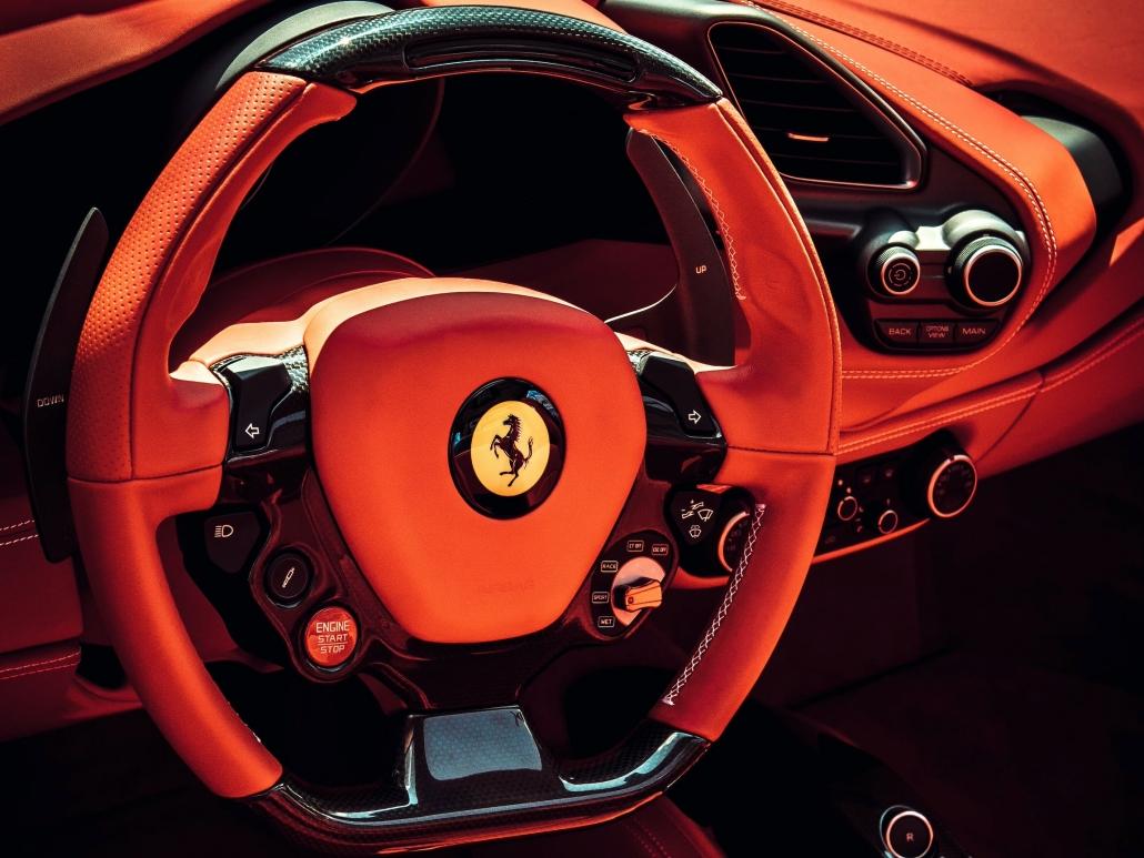 interni Ferrari