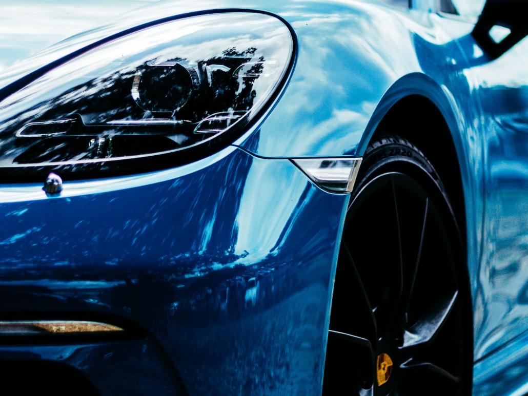 foto di una super car