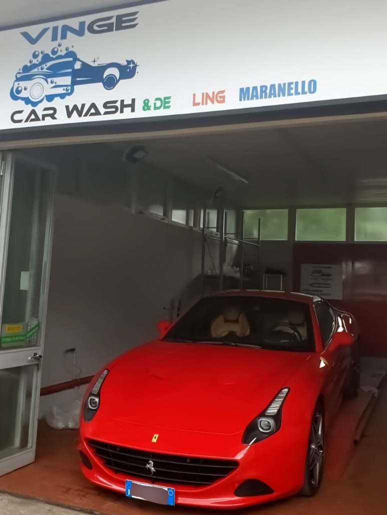 Procedura trattamento carrozzeria Ferrari California